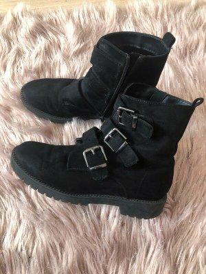 Schwarze Stiefel-Boots von Graceland 38