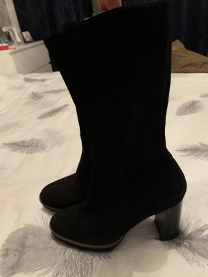 Lav. Artigiana Platform Boots black