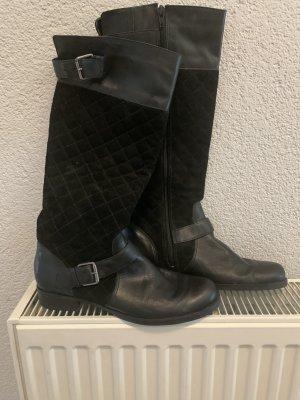 Schwarze Stiefel gr 40