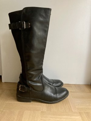 report Stretch Boots black
