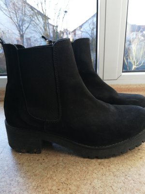 5th Avenue Slouch Booties black