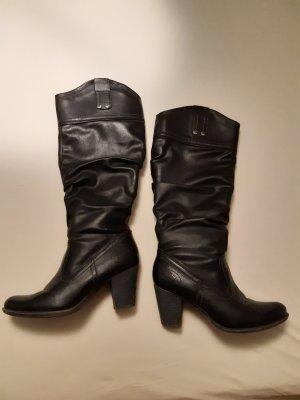 schwarze Stiefel max.5 mal getragen