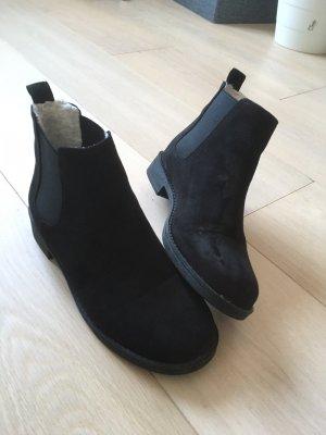 H&M Divided Fur Boots black