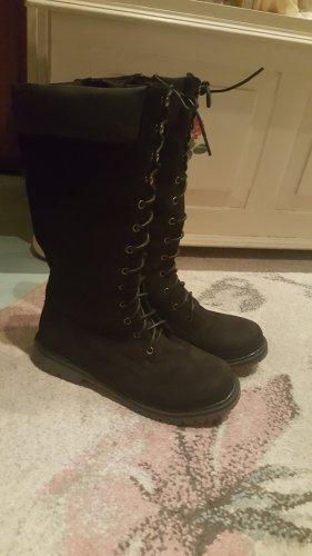 schwarze Stiefel neuwertig