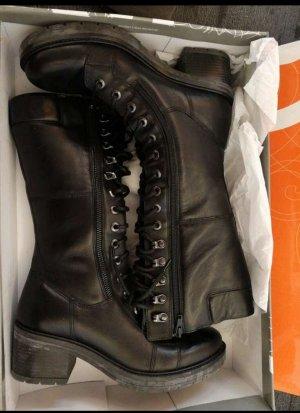 Schwarze Stiefel OrangeLabel Modell SARA02