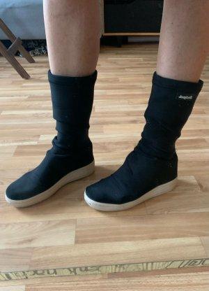 Desigual Bottes stretch noir-blanc