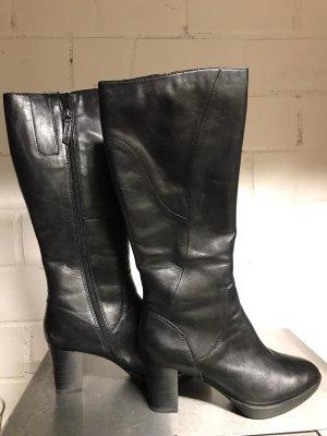 schwarze Stiefel von Tamaris