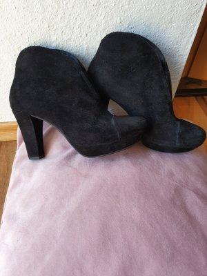 Schwarze Stiefelette, nur einmal getragen