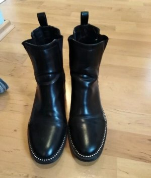 RAID Bottines à enfiler noir-argenté