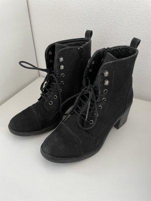 C&A Zipper Booties black