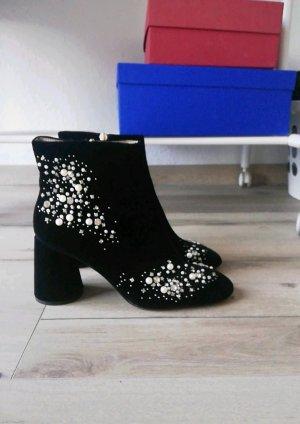 Schwarze Stiefeletten gr38 von Zara