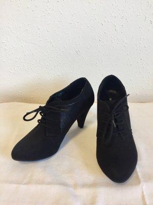 Schwarze Stiefeletten Graceland