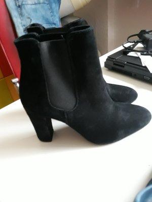 schwarze Stiefeletten Heidi Klum 39