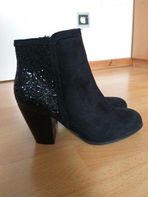 Fritzi aus preußen Chelsea Boots black textile fiber