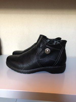 schwarze Stiefeletten von Supremo - einmal getragen - Gr. 38
