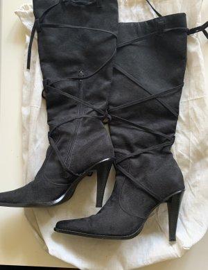 Schwarze Stiefeln in Größe 40