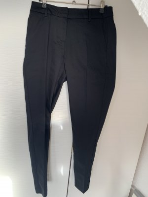 Schwarze Stoff Business Hose