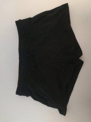 Schwarze Stoff/ Sporthose