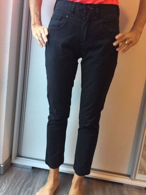 Tantum O.N. Spodnie z pięcioma kieszeniami czarny Bawełna