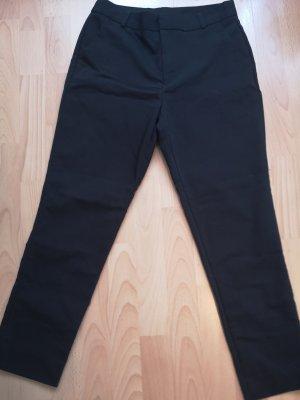 Schwarze Stoffhose