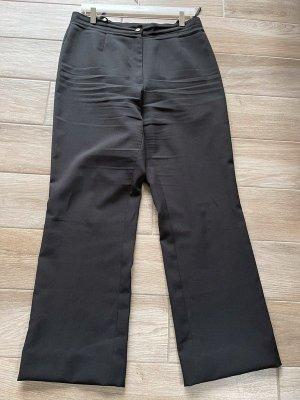 Schwarze Stoffhose, Gr. 44
