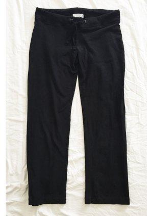 Schwarze Stoffhose / Homewear