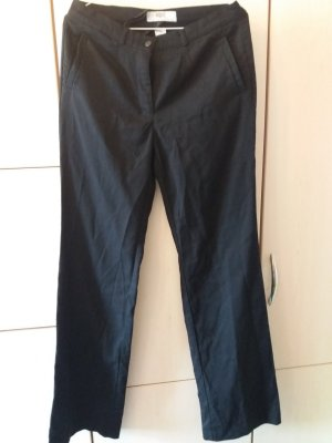 schwarze Stoffhose * Hose * gerader Schnitt * Bonprix * Größe 38