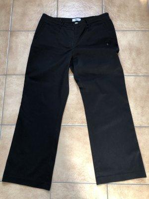 schwarze Stoffhose / Hose von b.p.c / Bonprix collection - Gr. 44