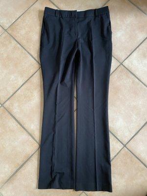 schwarze Stoffhose mit Bundfalten H&M Gr.40