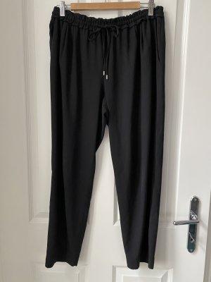 Zara Basic Pantalone jersey nero