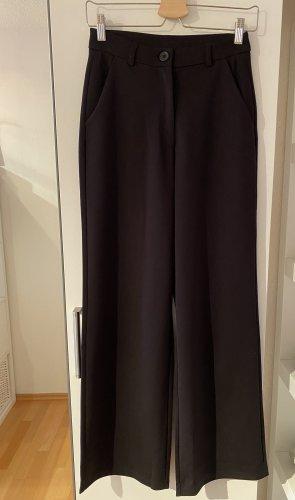 Jaqueline de Yong Pantalón tipo suéter negro