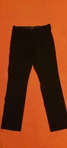 schwarze Stoffhose ohne Taschen