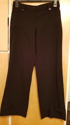 Schwarze Stoffhose,stretch,Gr.40