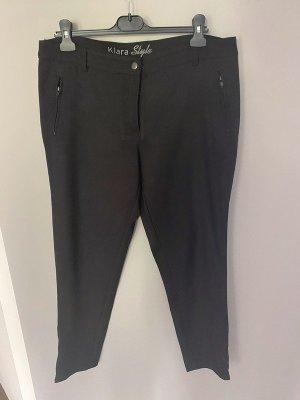 Schwarze Stoffhose von Gina Benotti, Gr. 44 - Kiara Style
