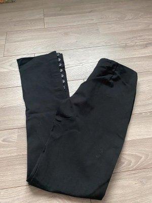Schwarze Stoffhose von Miss Sixty, Gr. 33 / M long