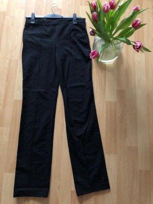 Schwarze Stoffhose / Winterhose von Zara Woman, Gr. L
