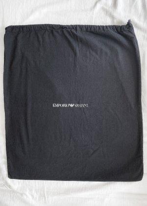 Schwarze Stofftasche / Stoffbeutel / Schutztasche von Emporio Armani