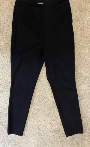 Schwarze Stretchhose Cambio Rea Long 40