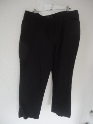 Schwarze Stretchhose in Gr. 46