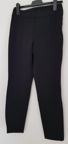 Schwarze Stretchhose von Cambio, mit Mittelnaht, Gr. 36