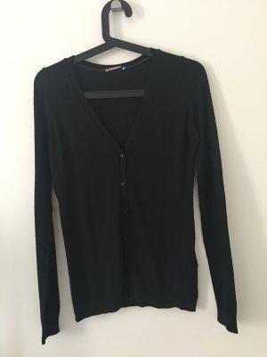 Orsay Gilet tricoté noir viscose