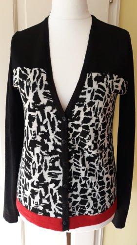 schwarze Strickjacke von Comma *50% Wolle* Gr. 40 *wenig benutzt*