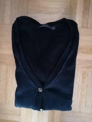 Schwarze Strickjacke von Zara