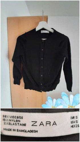 Zara Veste en laine noir