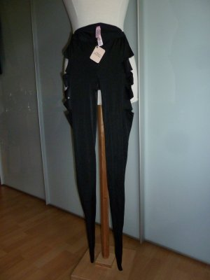Agent Provocateur Bas noir-or rose polyamide