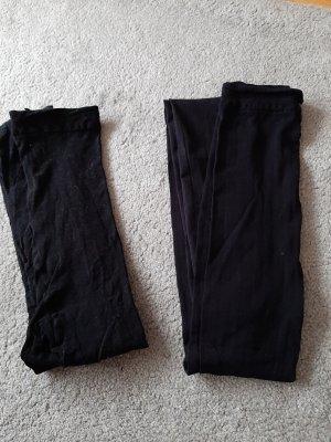 Schwarze Strumpfhosen