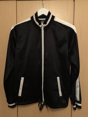 Esmara College jack zwart-wit Polyester