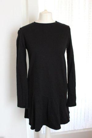 Schwarze Sweatshirtkleid von Zara