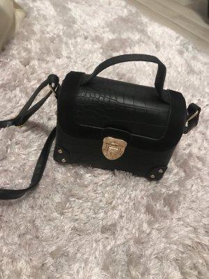 Primark Mini Bag gold-colored-black