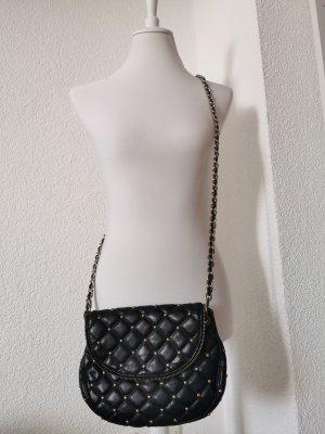 Accessorize Bolsa de hombro negro-color oro